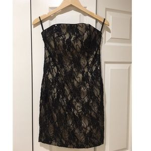 Jessica McClintock Dresses - Jessica McClintock Evening Black Mini Sequin Dress